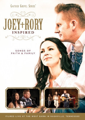 JOEY & RORY - INSPIRED DVD