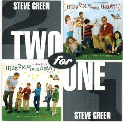 STEVE GREEN - TWO FOR ONE - HIDE EM IN YOUR HEART