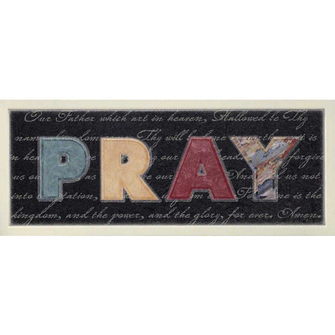 WALL PLAQUE -MDF PRAY