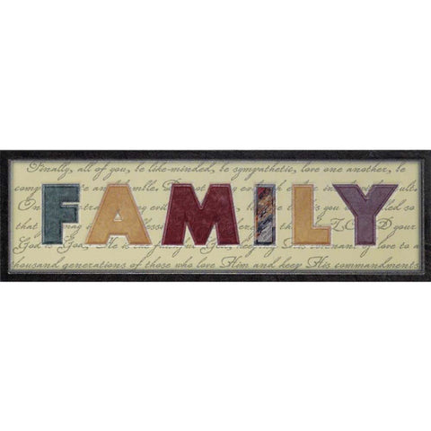 WALL PLAQUE -MDF FAMILY