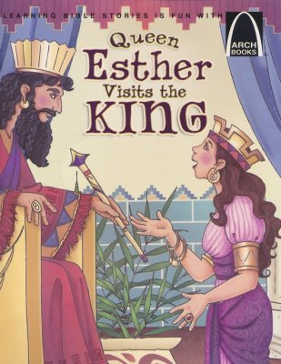 ARCH BOOK - QUEEN ESTHER VISITS THE KING