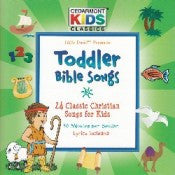TODDLER BIBLE SONGS CD CEDARMONT KIDS