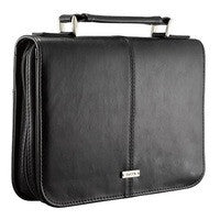 BIBLE CASE - CLASSIC FAITH - BLACK MED