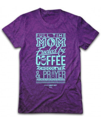 TSHIRT - FULL TIME MOM - XLG