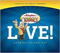 ADVENTURES IN ODYSSEY - LIVE CD/DVD