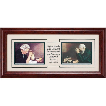 FRAMED ART - GRACE & GRATITUDE 9X19