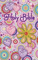 INTERNATIONAL CHILDREN`S BIBLE - PINK SEQUIN