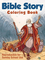 COLORING BOOK BIBLE STORY - REPRODUCIBLE
