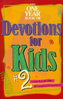 ONE YEAR BK DEVOTIONS KIDS #2 -TYNDALE