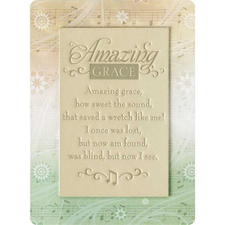 BOOKMARK - AMAZING GRACE THERMAL