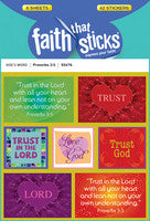 STICKERS - PROVERBS 3:5