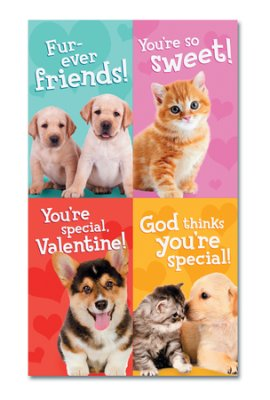 VALENTINE CARDS - WHISKERS & PAWS