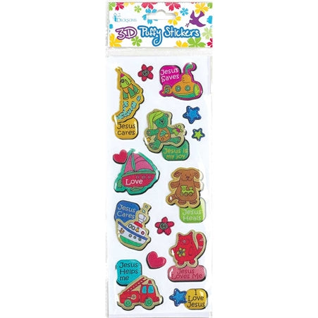 3D PUFFY STICKER - TOYS