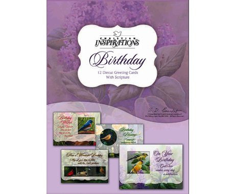 BOXED CARD - BIRTHDAY - CHEERFUL SONG