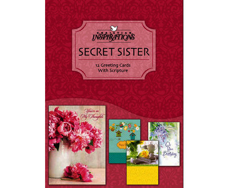 BOXED CARD - SECRET SISTER