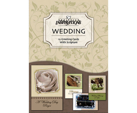 BOXED CARDS - WEDDING - A DAY TO REMEMBER