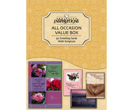BOXED CARDS - ALL OCCASION - 50 COUNT