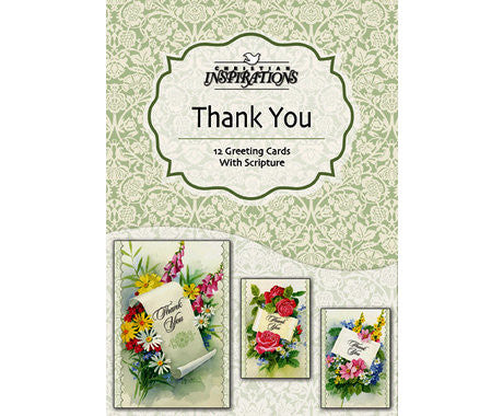 BOXED CARDS - THANK YOU - WITH GRATITUDE