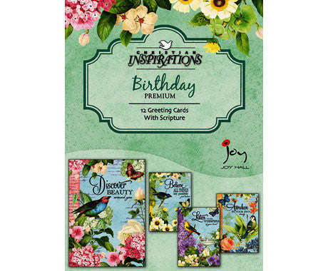 BOXED CARDS - BD - GARDEN MOTIF