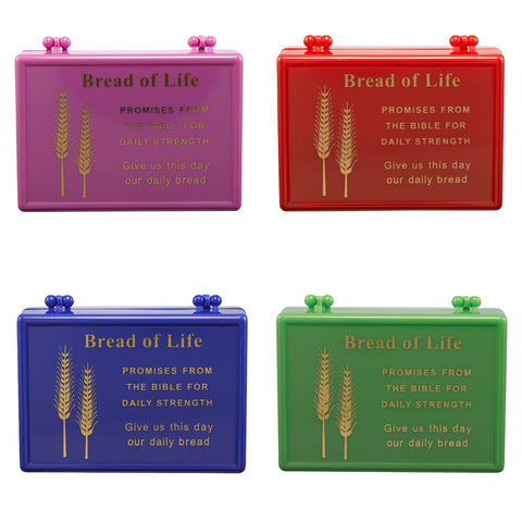 BREAD OF LIFE PROMISE BOX - RED
