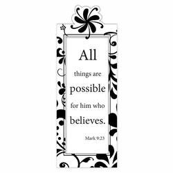 BOOKMARK - MAGNETIC - ALL THINGS ARE POSSIBLE