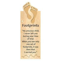 BOOKMARK - MAGNETIC - FOOTPRINTS