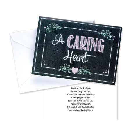 CARDS PKG OF 10 - A CARING HEART