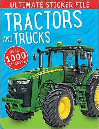 1000 STICKERS - TRACTORS & TRUCKS