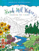 ADULT COLOURING BOOK - BESIDE STILL WATERS
