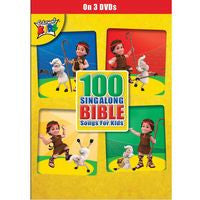 100 SING ALONG BIBLE SONGS DVD