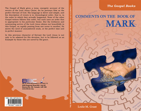 COMMENTS ON THE BOOK OF MARK -L.M.GRANT