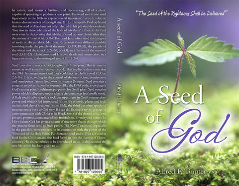 A SEED OF GOD - A.E. BOUTER