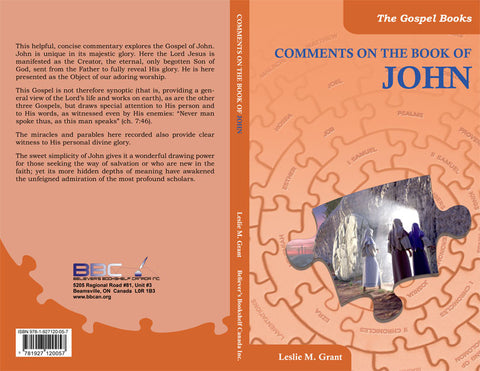 COMMENTS ON THE BOOK OF JOHN -L.M.GRANT