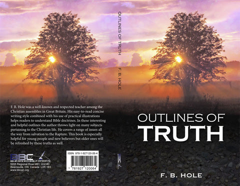 OUTLINES OF TRUTH - F.B. HOLE