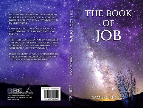 THE BOOK OF JOB - SAMUEL RIDOUT
