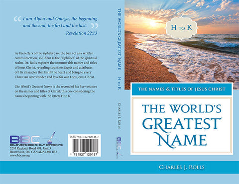 THE WORLD'S GREATEST NAME - C.J. ROLLS