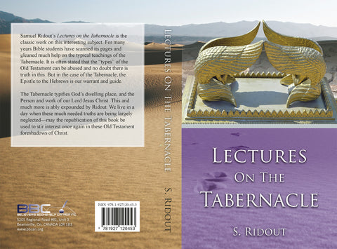 LECTURES ON THE TABERNACLE - SAMUEL RIDOUT