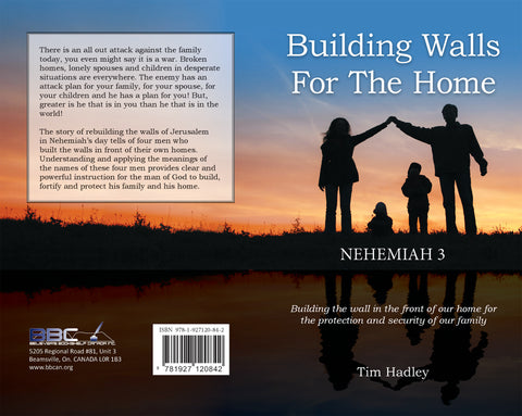 BUILDING WALLS FOR THE HOME - TIM HADLEY Sr.