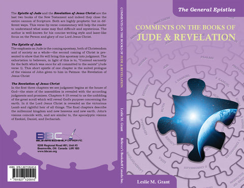 COMMENTS ON THE BOOKS OF JUDE & REVELATION - L.M. GRANT