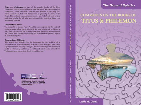 COMMENTS ON THE BOOK OF TITUS & PHILEMON - L.M. GRANT