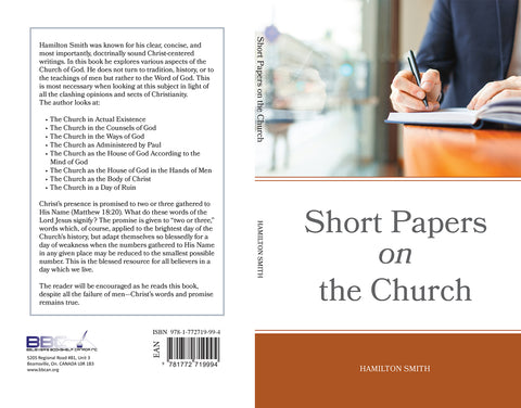 SHORT PAPERS ON THE CHURCH - H. SMITH