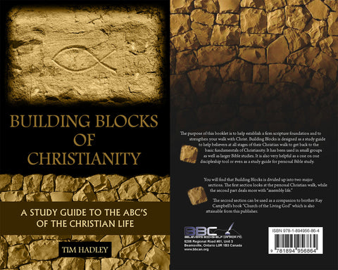 BUILDING BLOCKS OF CHRISTIANITY, TIM HADLEY- Paperback