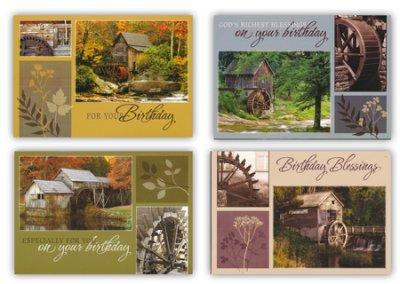 BOXED CARDS - BIRTHDAY - NEW VISTAS