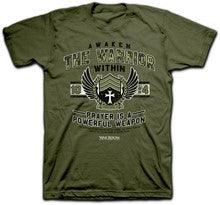TSHIRT - AWAKEN THE WARRIOR - MD