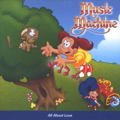 MUSIC MACHINE - ALL ABOUT LOVE CD