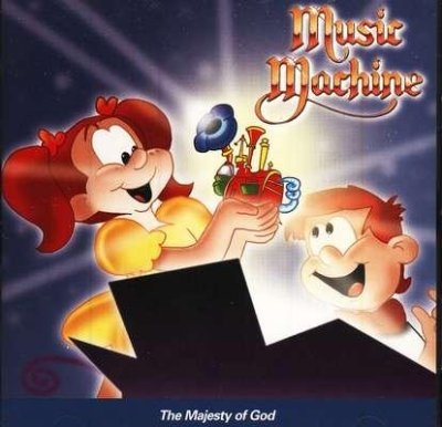 MUSIC MACHINE - MAJESTY OF GOD CD