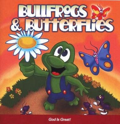 BULLFROGS & BUTTERFLIES - GOD IS GREAT CD