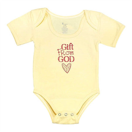 BABY SHIRT - GIFT FROM GOD 6 - 12 MOS