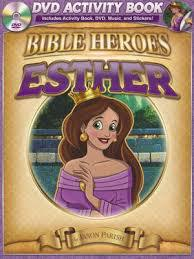 BIBLE HEROES ACTIVITY/DVD - ESTHER