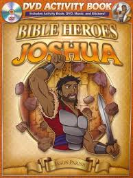 BIBLE HEROES ACTIVITY/DVD - JOSHUA